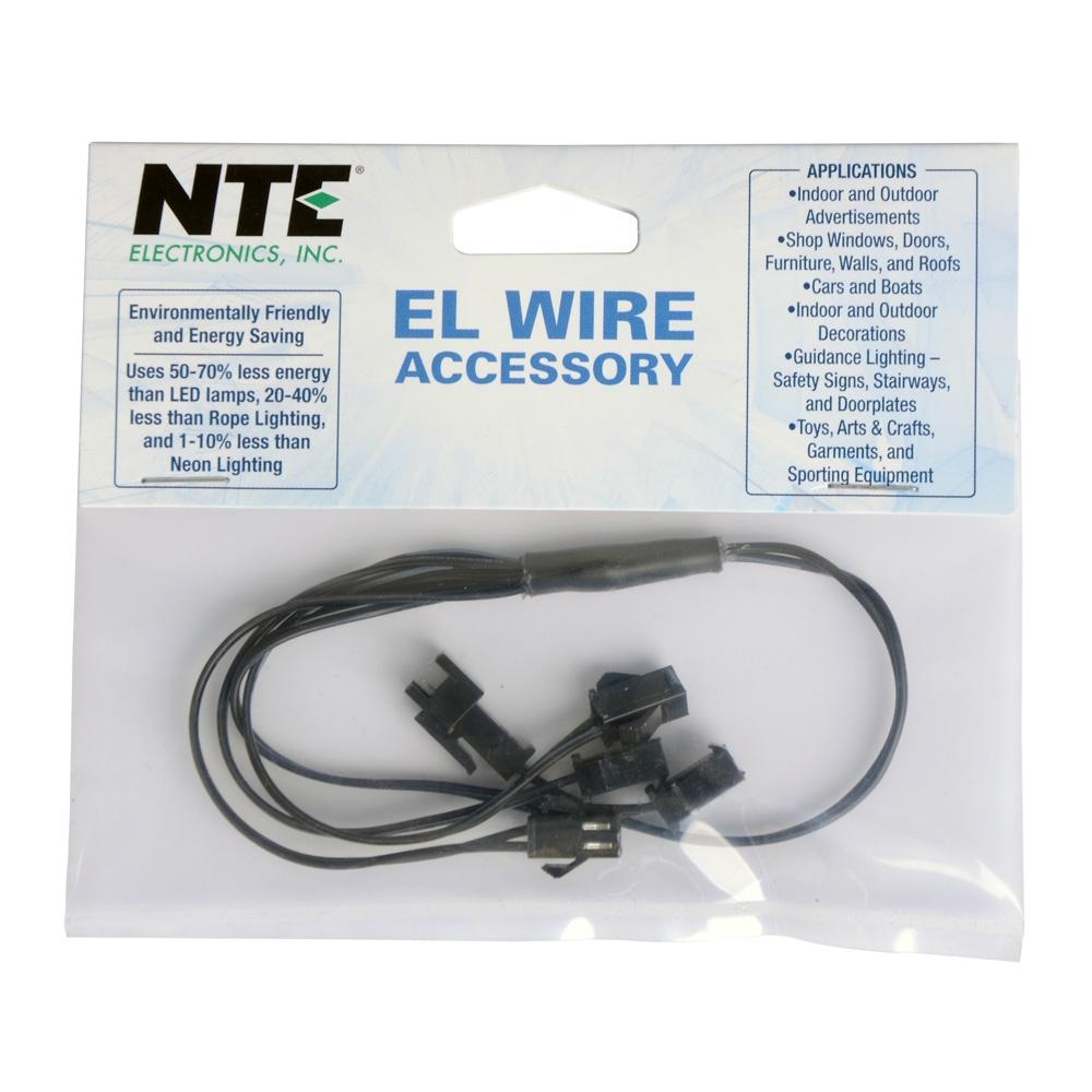 NTE Electronics EL Wire Splitter - 4 Wire - Micro Center