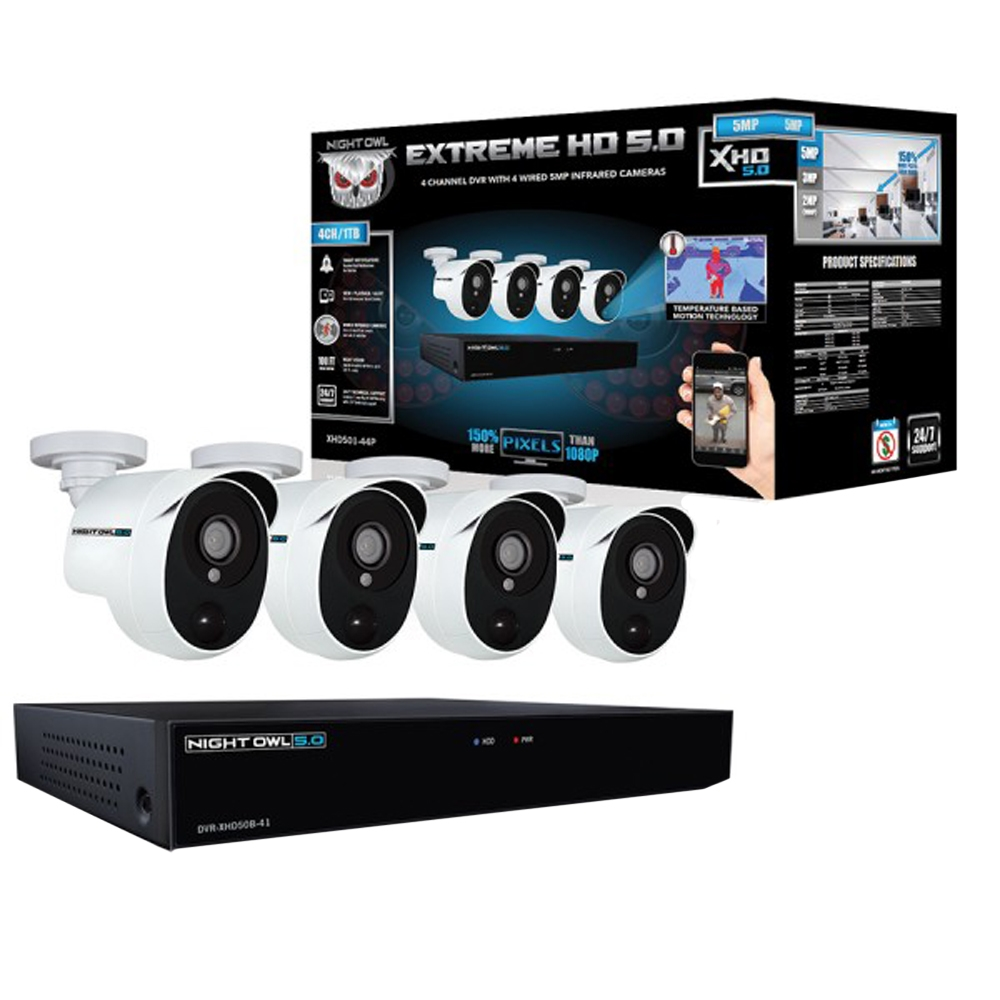 Night Owl Extreme HD Security Kit - Micro Center