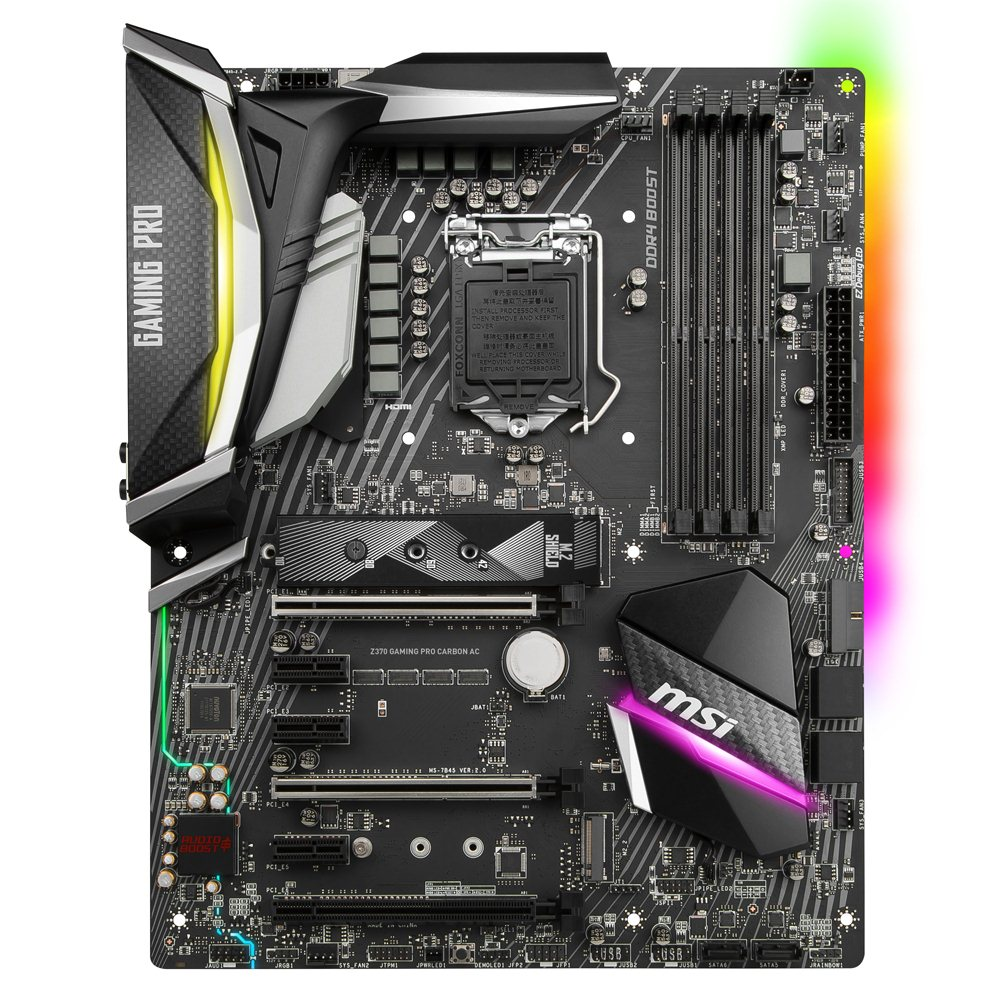 Msi z370 gaming pro carbon ac lga 1151 atx micro center breadcrumbs fandeluxe Images