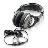 Inland Dynamic Stereo Headphones - Black/Gray
