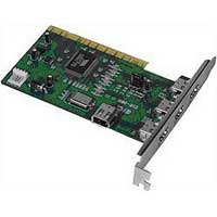 Inland 3-Port PCI to IEEE 1394 Firewire Card