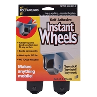 Master Caster Self Adhesive Instant Wheels