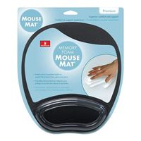 Handstands Memory Foam Mouse Pad with Wrist Rest