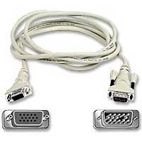Belkin Pro Series VGA HD15 M/F Extension Cable