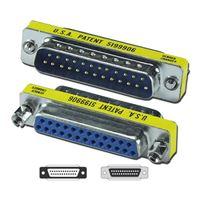 QVS DB25 Male to Female PortSaver for Parallel/Serial/SCSI Port
