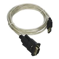 QVS USB 2.0 to DB9 Male RS232 Serial Adapter Cable