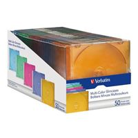 Verbatim CD Multi-Color Jewel Cases