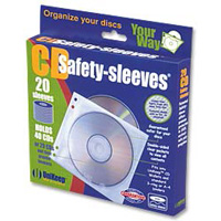 Unikeep Double-Sided Clear Safety Sleeve 20 Pack