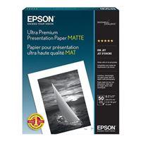 "Epson 8.5""x11"" Ultra Premium Presentation Paper 50-Sheets"