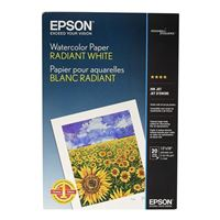 "Epson Watercolor Radiant White Paper 13""x19"" 20-Sheets"