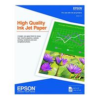 "Epson 8.5""x11"" High Quality Inkjet Paper 100-Sheets"