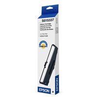 Epson S015337 Black Printer Ribbon Cartridge