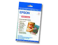 "Epson Micro Perforated Border Glossy Photo Paper 4""x6"" 50 Sheets"