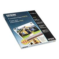 "Epson 8.5""x11"" 720dpi Photo Quality Inkjet Paper 100-Sheets"
