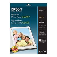 "Epson 8""x10"" Premium Glossy Photo Paper 20-Sheets"