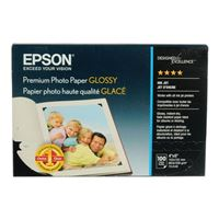 "Epson Premium Glossy Photo Paper 4""x6"" 100 Sheets"