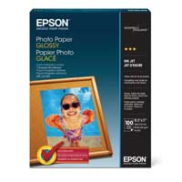 "Epson 8.5""x11"" Glossy Photo Paper 100-Sheets"
