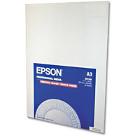 "Epson Premium Glossy Photo Paper 11.7""x16.5"" 20-Sheets"