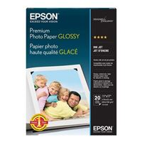 "Epson Premium Glossy Photo Paper 11""x17"" 20-Sheets"