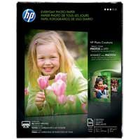 "HP 8.5""x11"" Everyday Photo Paper 100-Sheets"