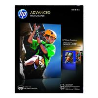 "HP 8.5""x11"" Advanced Glossy Photo Paper 50-Sheets"