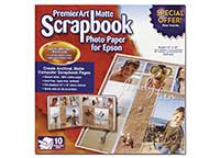 Epson PremierArt Matte Scrapbook Photo Paper