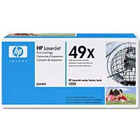 HP 49X LaserJet Black High Capacity Toner Cartridge