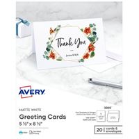 Greeting cards amp envelopes paper office supplies avery personal creations inkjet greetings card m4hsunfo