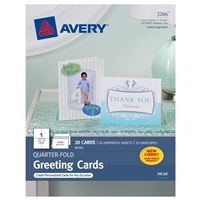 Avery Quarter-Fold Cards