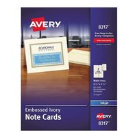 Greeting cards amp envelopes paper office supplies avery specially yours fine greeting card inkjet papers m4hsunfo