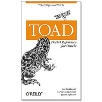 O'Reilly TOAD Pocket Reference for Oracle