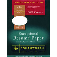 Southworth Connoisseur Collection Exceptional Resume Paper