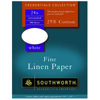 Southworth Credentials Collection: Fine Linen Paper