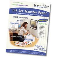 TransferMagic Inkjet White Transfer Paper