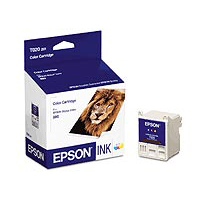 Epson T020201 Tri-Color Ink Cartridge