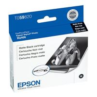 Epson T059820 Matte Black Ink Cartridge