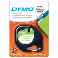 Dymo 2-Pack Letra Tag White Paper Labels