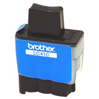 Brother LC-41C Cyan Inkjet Cartridge