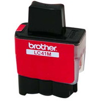 Brother LC-41M Magenta Inkjet Cartridge
