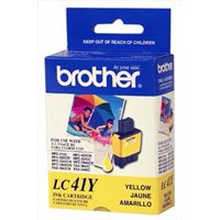Brother LC-41Y Yellow Inkjet Cartridge