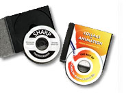 Avery White Inkjet CD/DVD Label Kit