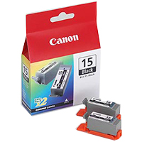 Canon BCI-15 Black Cartridge 2-Pack