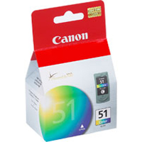 Canon CL-51 High Capacity Tri-Color Cartridge