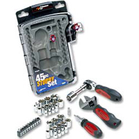 Performance Tools 45-Piece Stubby Set