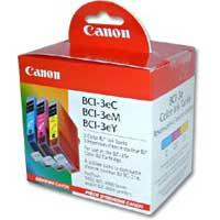 Canon BCI-3e Color Multipack 3-Pack
