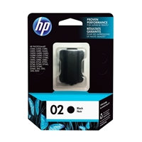 HP HP 02 Black Ink Cartridge (C8721WN)