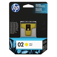 HP HP 02 Yellow Ink Cartridge (C8773WN)