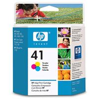 HP 41 Tri-Color Ink Cartridge (51641A)