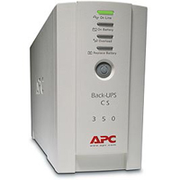 APC 350VA Battery Back-UPS with 6 Outlets, USB Connectivity and Shutdown Software