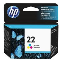 HP HP 22 Tri-Color Ink Cartridge (C9352AN)